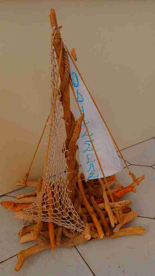 Εκπληκτικά έργα τέχνης από θαλασσόξυλα από τον Κωστή Δήμα