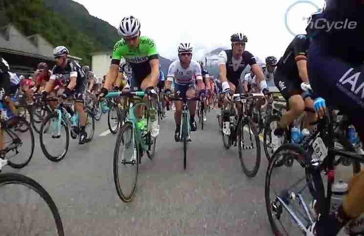 Αυτό το βίντεο θα σας αλλάξει τον τρόπο που βλέπετε αγώνες ποδηλάτων