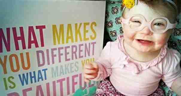 """Όταν γεννήθηκε η κόρη της """"διαφορετική"""" καταρρακώθηκε. Μέχρι που έφτιαξε αυτή τη λίστα"""