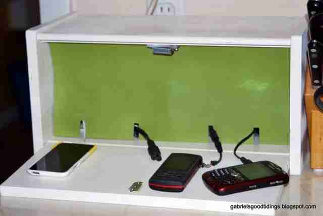 Ένας κουτί φόρτισης για τις ηλεκτρονικές σας συσκευές