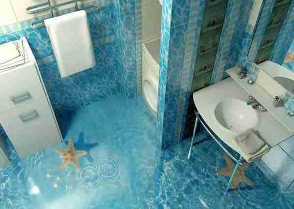 16 εντυπωσιακά τρισδιάστατα μπάνια που θα σας προκαλέσουν ζήλια!