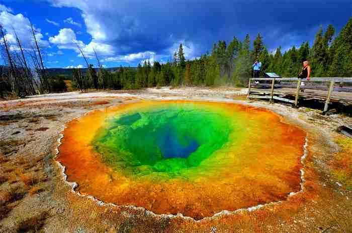 Λίμνη Morning Glory, Εθνικό Πάρκο Yellowstone, Ουαϊόμινγκ, ΗΠΑ