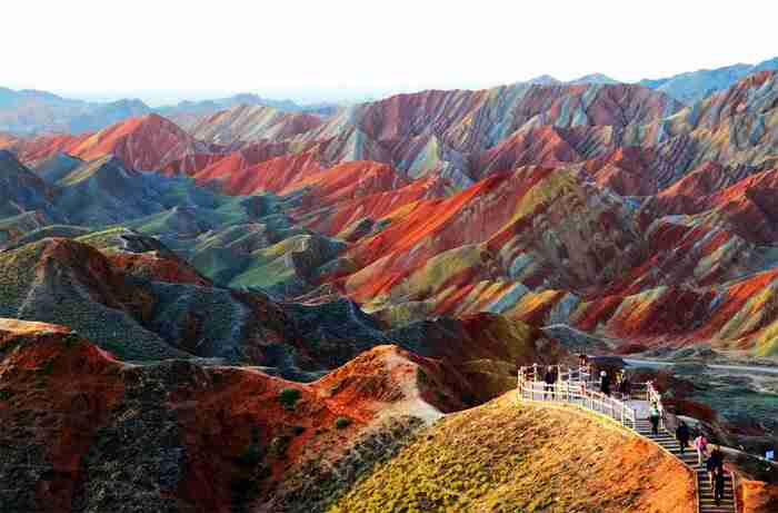 Zhangye Danxia, νοτιοδυτικά της Κίνας