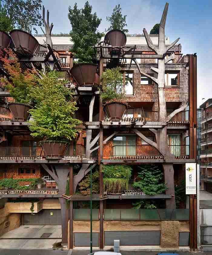 Το μεγάλο όραμα του Luciano Pia, ενός λαμπρού αρχιτέκτονα από την Ιταλία, ήταν να βρει τρόπο να φέρει πιο κοντά στη φύση τους κατοίκους μιας μεγαλούπολης.