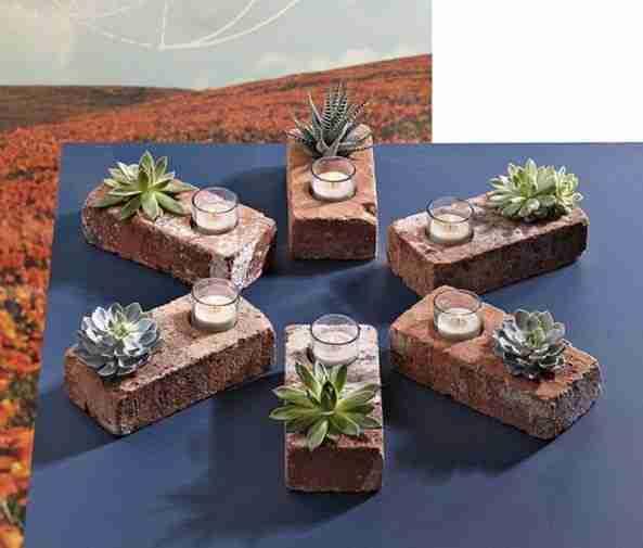 Πάρτε μερικά τούβλα με τρύπες και δημιουργήστε αυτό:
