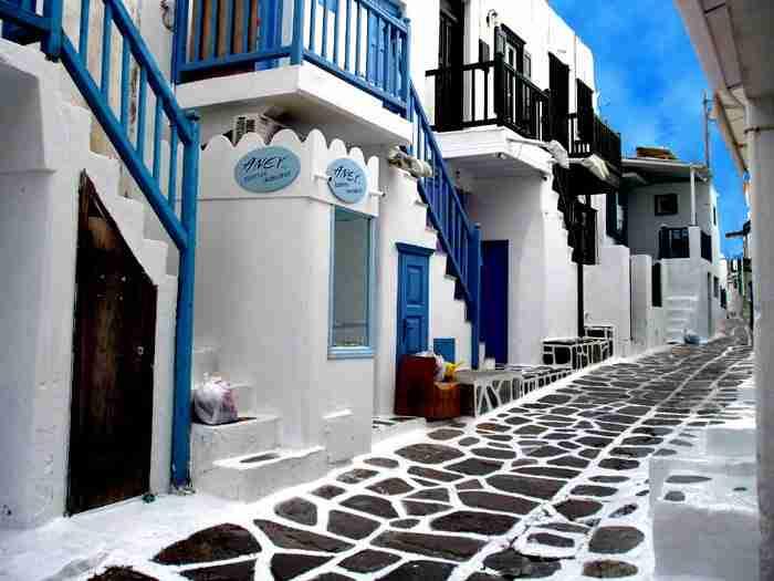 Μύκονος, Ελλάδα