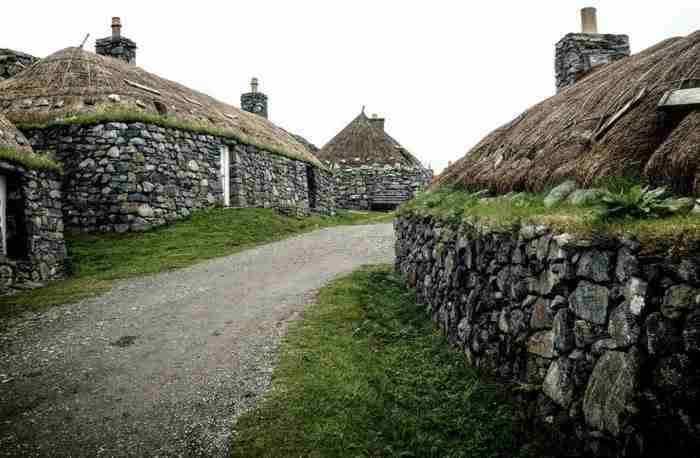 Gearrannan Blackhouse Village, Garenin, Σκωτία