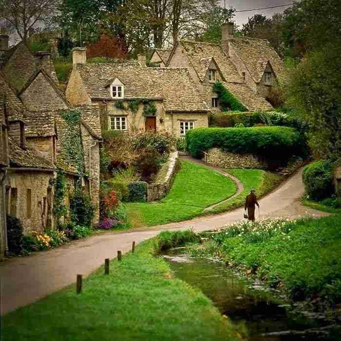 Bibury, Gloucestershire, Αγγλία