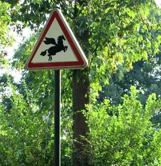 Προσοχή φτερωτά άλογα! Τι άλλο θέλετε για να το καταλάβετε;