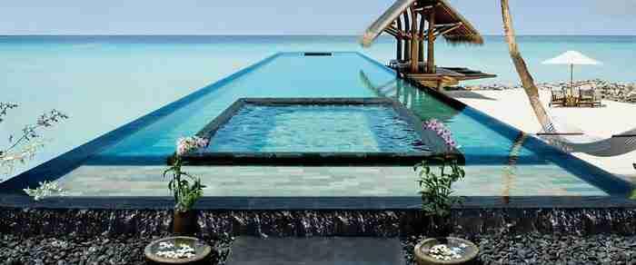 Πισίνα σπα στο Reethi Rah One and Only Resort στις Μαλδίβες