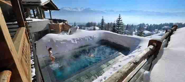 Ξενοδοχείο LeCrans Hotel and Spa στην Ελβετία