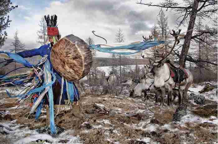 Φωτογράφος αιχμαλωτίζει την ομορφιά μιας από τις πιο σπάνιες φυλές της Μογγολίας