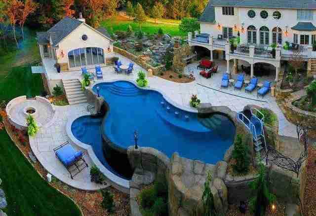 Ένα σπίτι σαν αυτό.