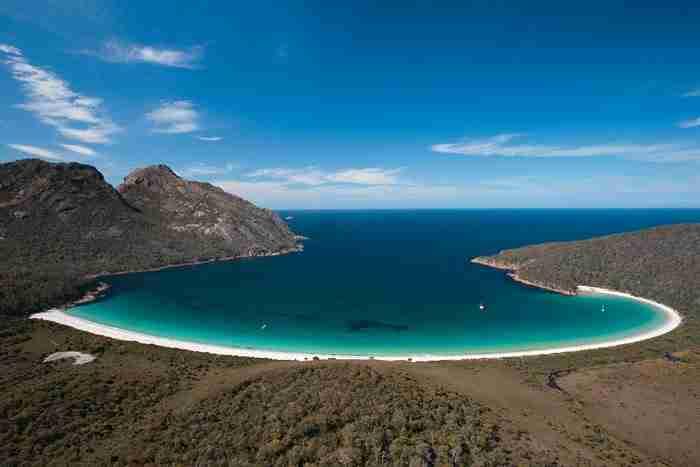 Wineglass Bay, Τασμανία, Αυστραλία