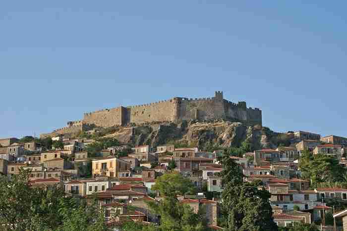 Κάστρο Μήθυμνας ή Κάστρο Μολύβου