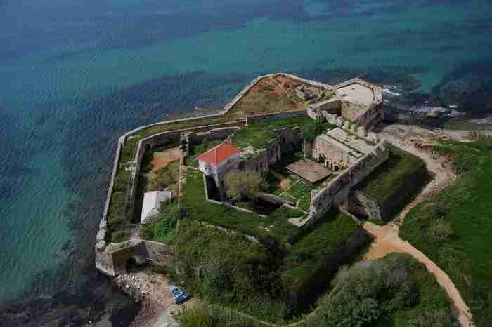 Κάστρο Παντοκράτορα ή Φυλακές Παντοκράτορα ή Ουτς-Καλέ