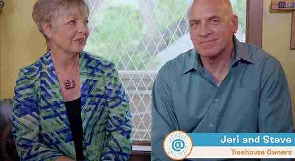 Η Jeri και ο Steve Wakefield είναι οι υπερήφανοι ιδιοκτήτες ενός ονειρικού δεντρόσπιτου!