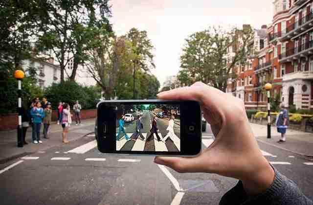 The Beatles/Abbey Road, Λονδίνο
