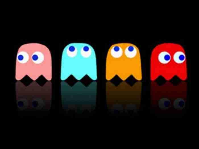 Μοιάζει με το φαντασματάκι του  Pac-Man