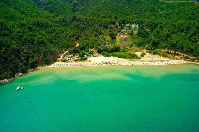 Θάσος - Παραλία Παράδεισος