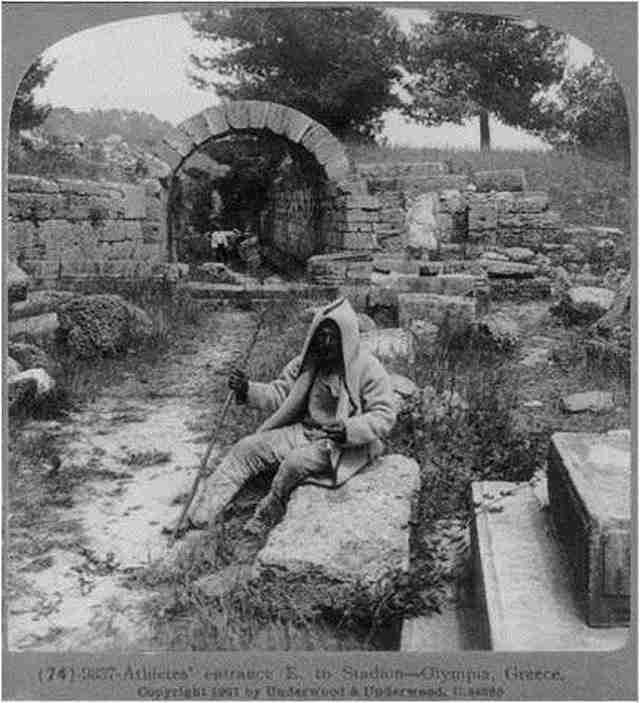 Αρχαία Ολυμπία – 1907