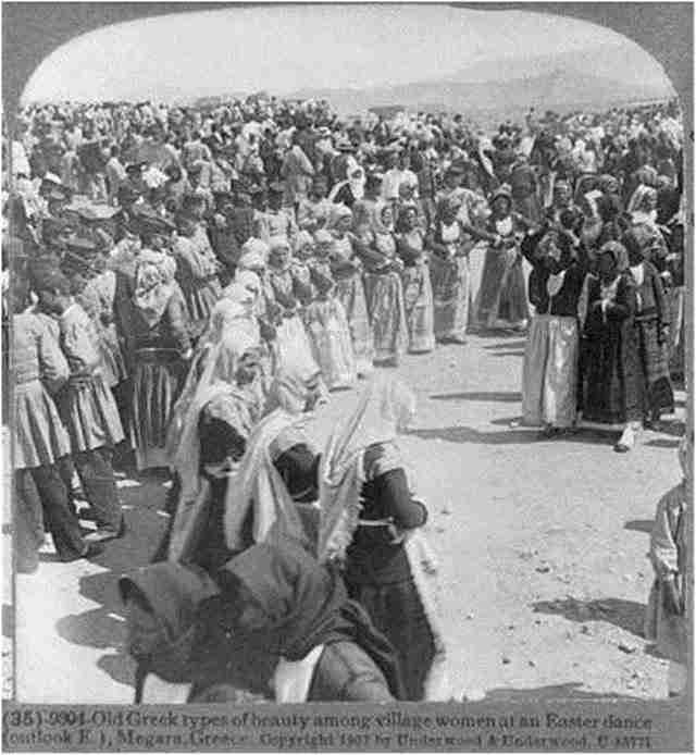 Πάσχα στα Μέγαρα – 1907