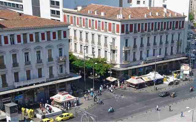 Ένα ξενοδοχείο όπου έπινε τον καφέ του ο Γιάννης Ρίτσος: