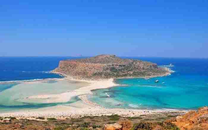 Η παραλία του Μπάλου, Κρήτη.