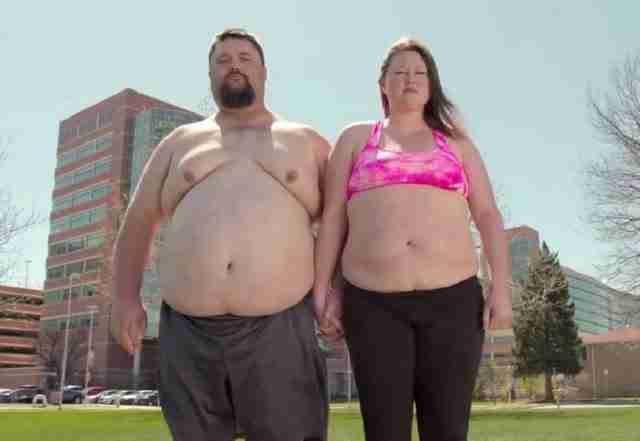 Ήθελαν να χάσουν 100 κιλά για να μπορέσουν να αγκαλιαστούν στο γάμο τους! Το αποτέλεσμα δεν το περίμεναν ούτε οι ίδιοι..