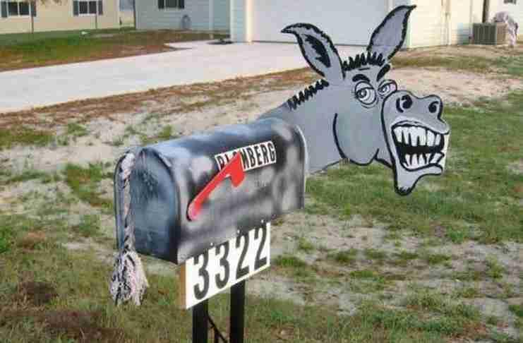 25 από τα πιο παράξενα γραμματοκιβώτια που είδατε ποτέ! Το 16 μάλλον είναι λίγο προσβλητικό..