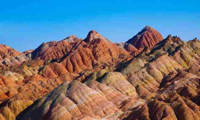 Εθνικό Γεωλογικό Πάρκο Zhangye Danxia, Κίνα