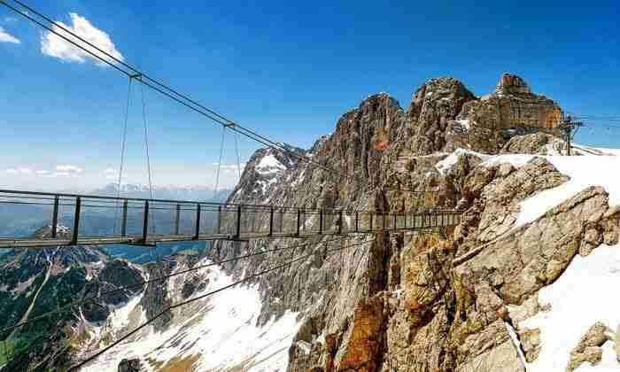 Κρεμαστή Γέφυρα του Dachstein Glacier, Αυστρία