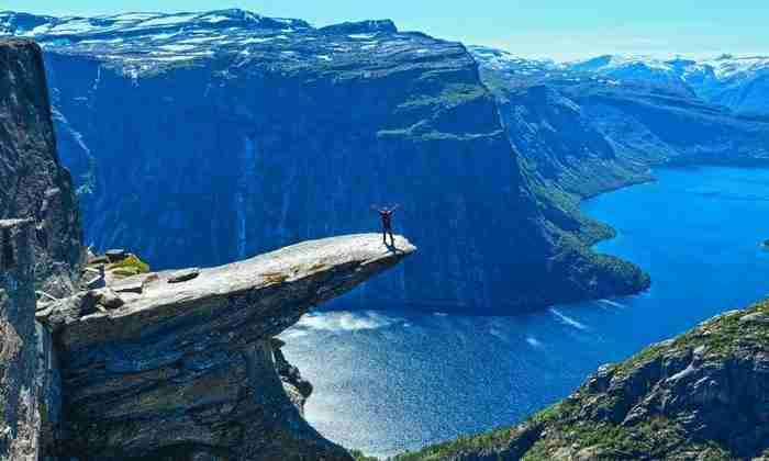 Trolltunga, Νορβηγία