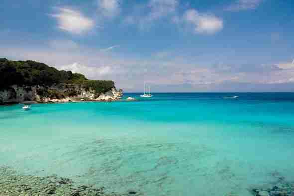 Αποτέλεσμα εικόνας για παξοί παραλίες