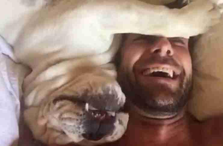 Ο σκύλος του μισεί να ξυπνάει νωρίς το πρωί. Έτσι πήρε μια κάμερα και κατέγραψε τις αντιδράσεις του
