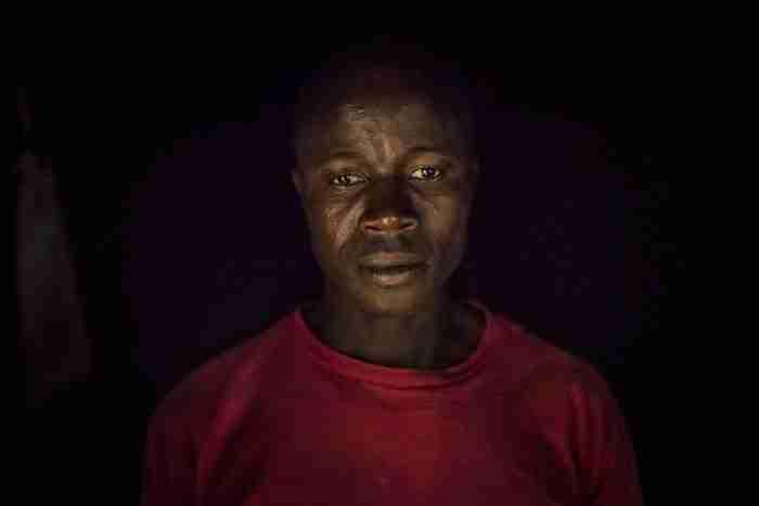 Ο Etienne Ouamouno, ο πατέρας του μωρού που πιστεύεται ότι είναι ο Ασθενής Μηδέν της επιδημίας του ιού Έμπολα