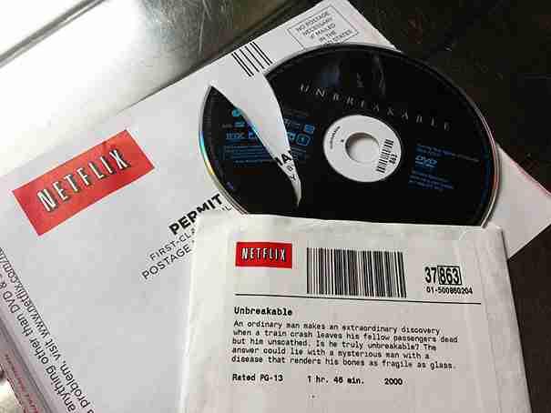 Η ταινία στο DVD ονομάζεται unbreakable (άθραυστος). Κάτι που μάλλον δεν είναι το DVD..