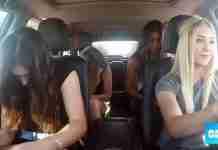 Τοποθέτησαν μια κάμερα στο αυτοκίνητο και αρχίζουν να τραγουδούν. Προσέξτε τι θα γίνει στο 0:30