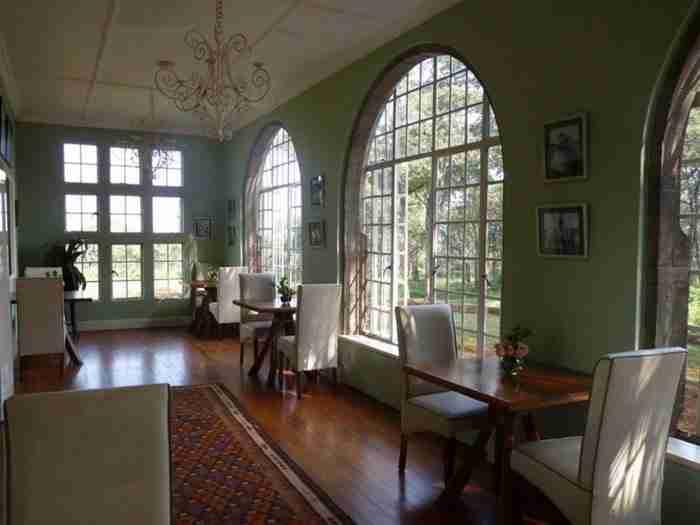 Αυτό είναι το δωμάτιο όπου σερβίρεται το πρωινό.
