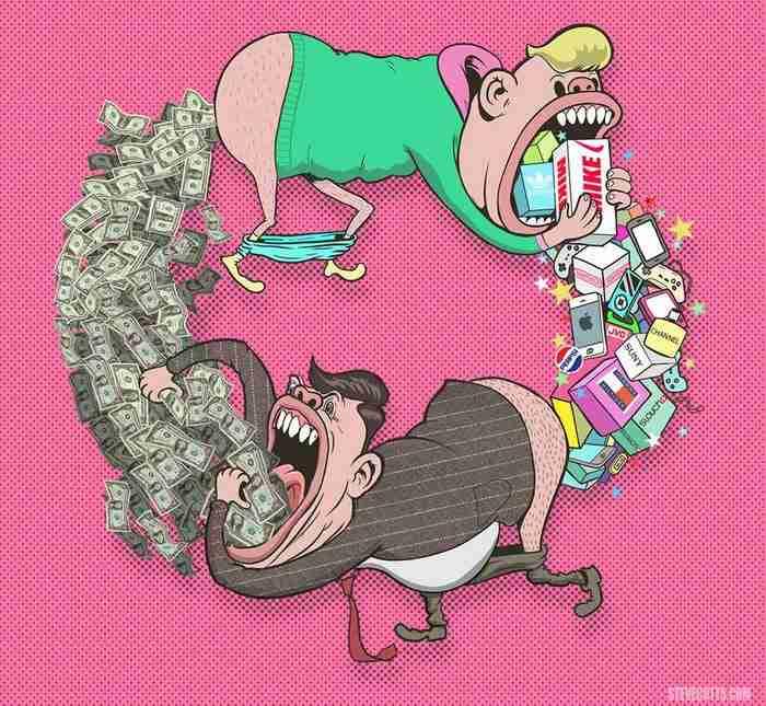Η θλιβερή αλήθεια για τον κόσμο που ζούμε σε 16 δυνατές εικονογραφίες του Steve Cutts
