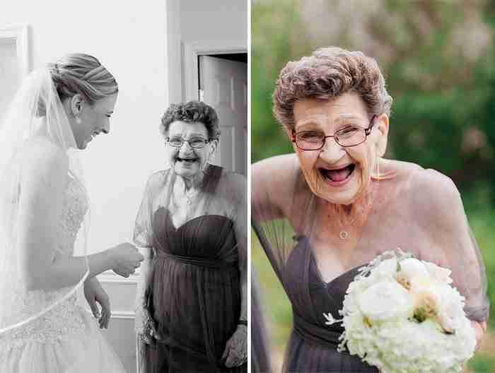 """""""Με ρώτησε πάνω από 10 φορές: «Είσαι σίγουρη;» και «Γιατί να θέλεις μια ηλικιωμένη γυναίκα στη δεξίωση του γάμου σου;"""""""""""