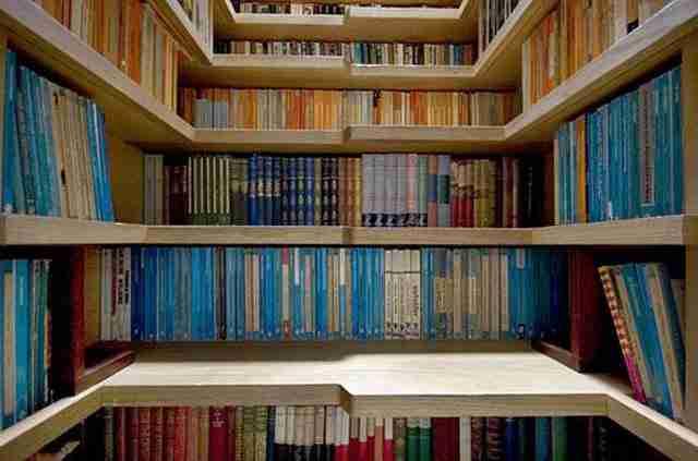 Σκάλες βιβλιοθήκη!