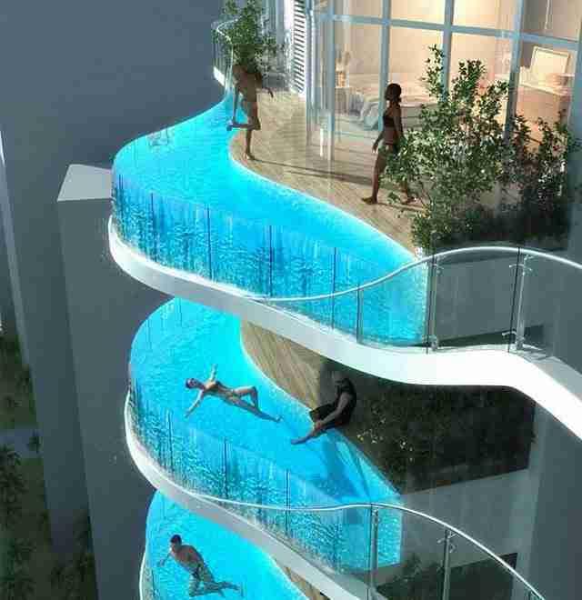 Φτιάξτε πισίνα στο μπαλκόνι σας