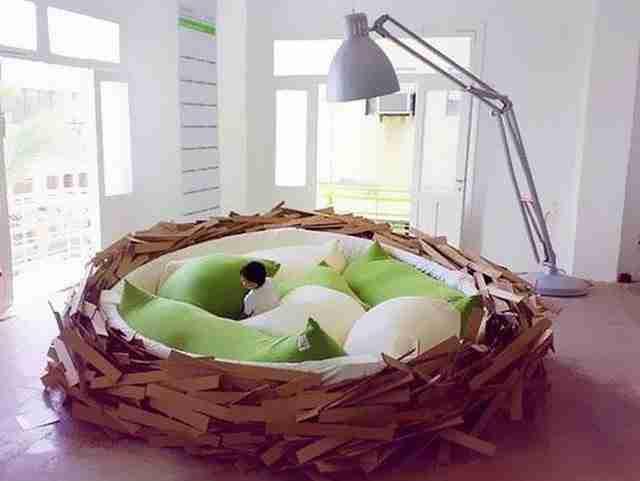Αλλάξτε το κρεβάτι σας με αυτό το πρωτότυπο κρεβάτι – φωλιά!