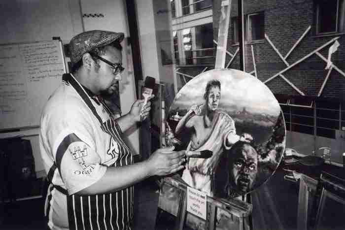 """""""Ο καλλιτέχνης, Whitechapel"""" του Michael Crosswaite"""