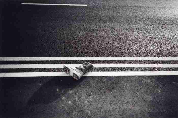 """""""Εγκαταλελειμμένη μπότα στο Ανατολικό Λονδίνο"""" από την Ellen Rostant"""
