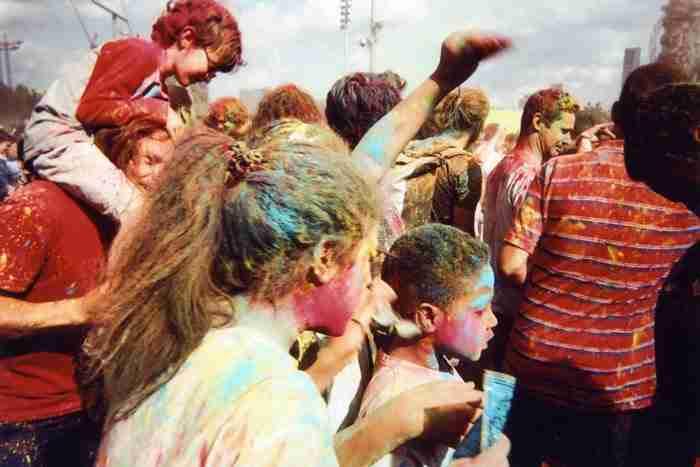 """""""Φεστιβάλ χρωμάτων, Ολυμπιακό Πάρκο» του Goska Calik"""