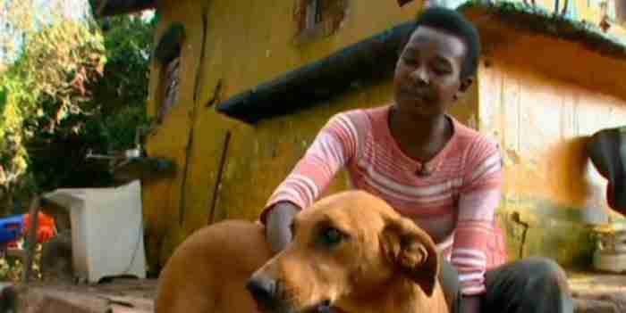 Η Λιλίκα ζει σε μια παραγκούπολη της Βραζιλίας.