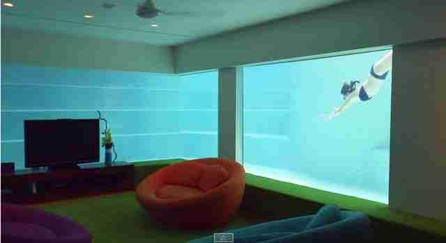 Αυτό είναι το «υποβρύχιο δωμάτιο ενημέρωσης»!