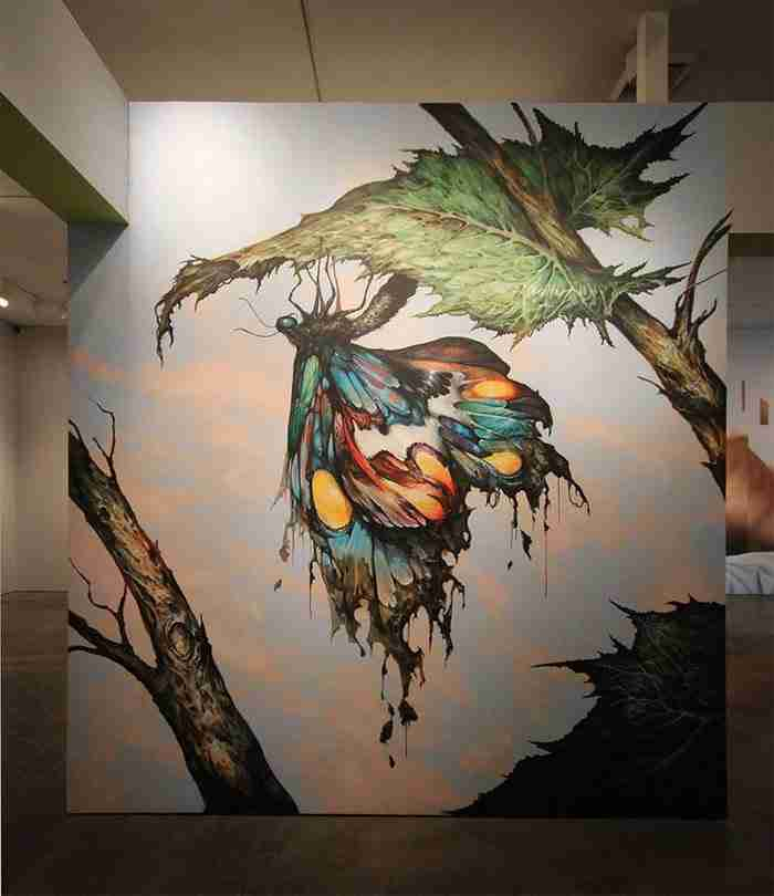 Οι υπεύθυνοι ενός μουσείου ζήτησαν από καλλιτέχνες να ζωγραφίσουν ότι ήθελαν στους τοίχους του. Δείτε το αποτέλεσμα